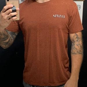 Ring of Fire orange T-shirt